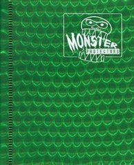 Monster Protectors 2-Pocket Binder - Holo Green