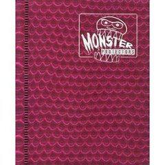 Monster Protectors 2-Pocket Binder - Holo Pink