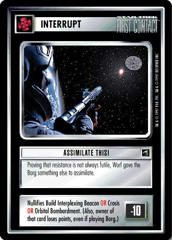 Assimilate This!