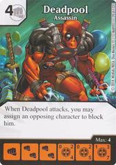 Deadpool - Assassin (Die & Card Combo)