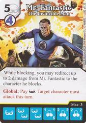 Mr. Fantastic - The Invincible Man (Die & Card Combo)