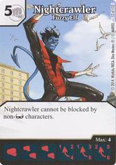 Nightcrawler - Fuzzy Elf (Die & Card Combo)
