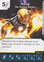 Nova - The Human Rocket (Die & Card Combo)