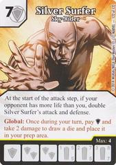 Silver Surfer - Sky-Rider (Die & Card Combo)