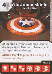 Vibranium Shield - One of a Kind (Die & Card Combo)