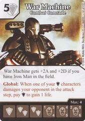 War Machine - Combat Comrade (Die & Card Combo)