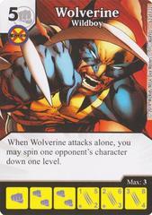 Wolverine - Wildboy (Die & Card Combo)