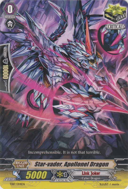 Star-vader, Apollonel Dragon - TD17/014EN - TD