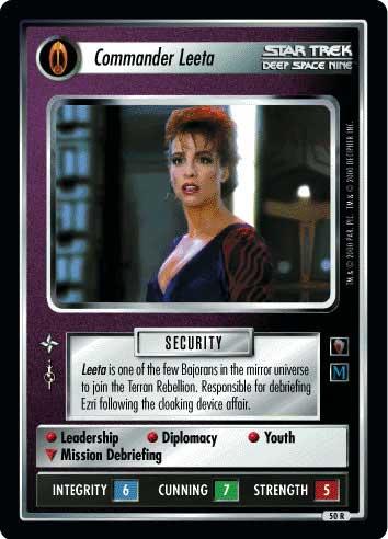 Commander Leeta
