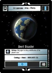 Avert Disaster