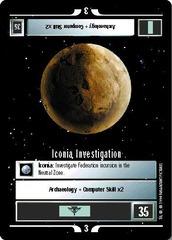 Iconia Investigation