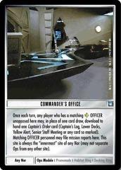 Commander's Office