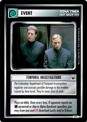 Temporal Investigations