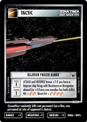 Bajoran Phaser Banks