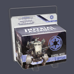 Star Wars Imperial Assault: General Weiss Villain Pack © 2014 FFG SWI03