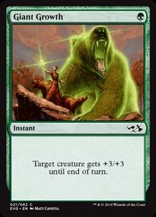 Giant Growth (Elves vs Goblins)