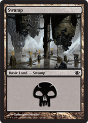 Swamp (61) (Garruk vs Liliana)