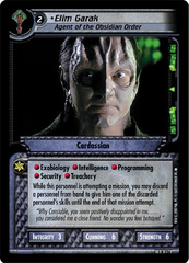 Elim Garak, Agent of the Obsidian Order