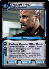 William T. Riker, Wistful Admiral