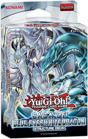 Yu-Gi-Oh Structure Deck: Saga of Blue Eyes White Dragon - Unlimited Edition