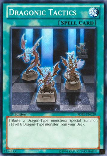 Dragonic Tactics - SDBE-EN029 - Common - Unlimited Edition