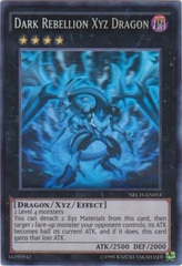 Dark Rebellion Xyz Dragon - NECH-EN053 - Ghost Rare - Unlimited Edition