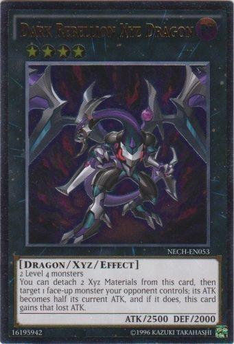 Dark Rebellion Xyz Dragon - NECH-EN053 - Ultimate Rare - Unlimited Edition