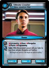 Wesley Crusher, Nova Squadron Pilot