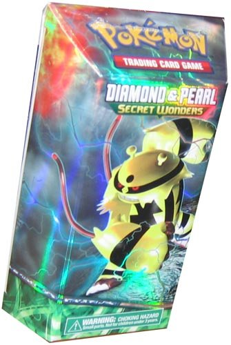 Pokemon Diamond and Pearl Collectors Box Sealed TCG 4 Booster Packs /& Theme Deck
