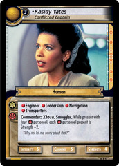 Kasidy Yates, Conflicted Captain