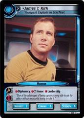James T. Kirk, Youngest Captain In Starfleet - Archive Portrait Foil