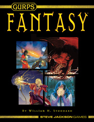 GURPS RPG 4th Edition: Fantasy (soft cover)