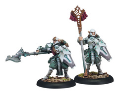 Houseguard Halberdier Officer & Standard Bearer