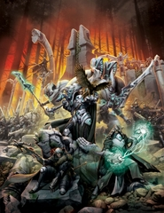 Forces of Warmachine Retribution Of Scyrah Softcover