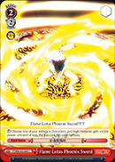 Flame Lotus Phoenix Sword - FT/EN-S02-065 - C