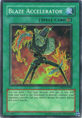 Blaze Accelerator - CP06-EN005 - Super Rare - Promo Edition on Channel Fireball