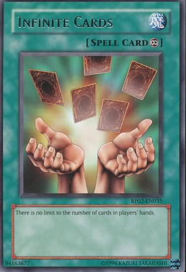 Infinite Cards - RP02-EN035 - Rare - Unlimited Edition