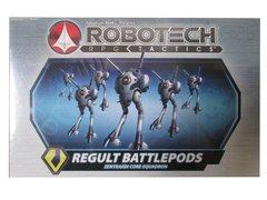 Robotech RPG Tactics Regult Battlepods Zentraedi Core Squadron Box Set