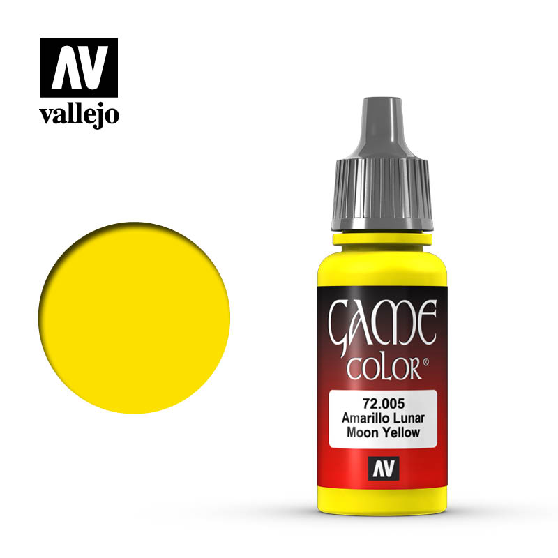 Vallejo Game Color - Moon Yellow - VAL72005 - 17ml