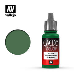 Vallejo Game Color - Sick Green - VAL72029 - 17ml