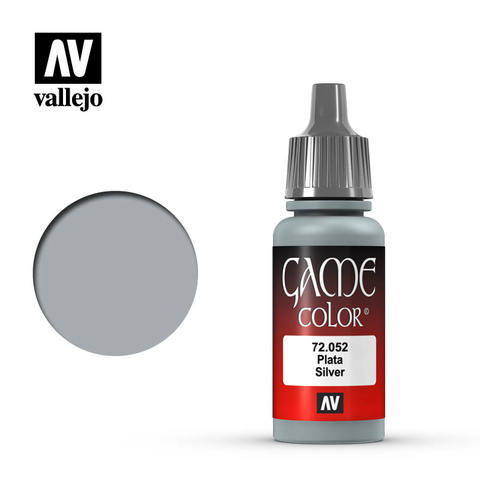 Vallejo Game Color - Silver - VAL72052 - 17ml