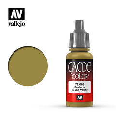 Vallejo Game Color - Desert Yellow - VAL72063 - 17ml
