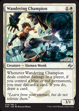 Wandering Champion - Foil