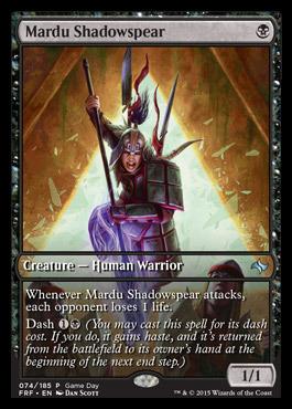 Mardu Shadowspear (Game Day)
