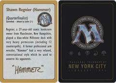 Biography - Shawn Hammer Regnier - 1996