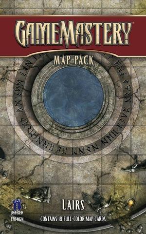 GameMastery Map Pack: Lairs