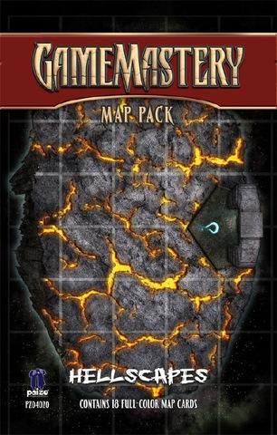 Pathfinder RPG (GameMastery Map Pack) - Hellscapes