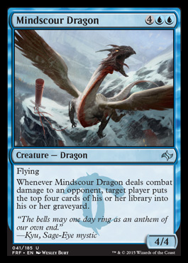 Mindscour Dragon - Foil