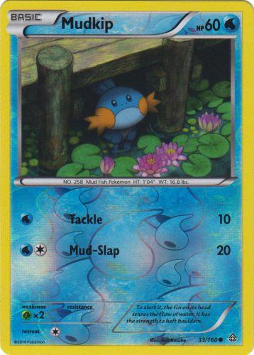 Marill 102//160  X/&Y Primal Clash  Reverse Holo  NM//Mint  Pokemon
