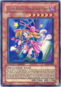 Toon Dark Magician Girl - JUMP-EN010 - Ultra Rare - Limited Edition